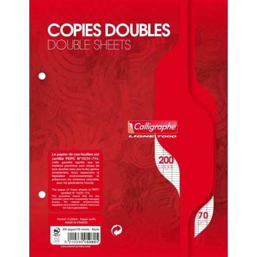 50 copies doubles A4