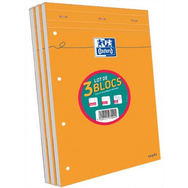 3 blocs-notes A4